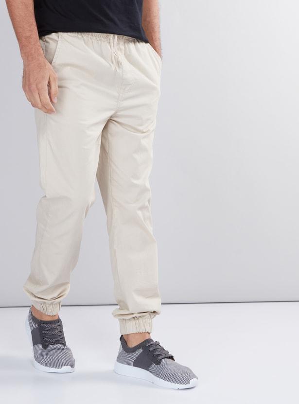 Full Length Jog Pants with Pocket Detail