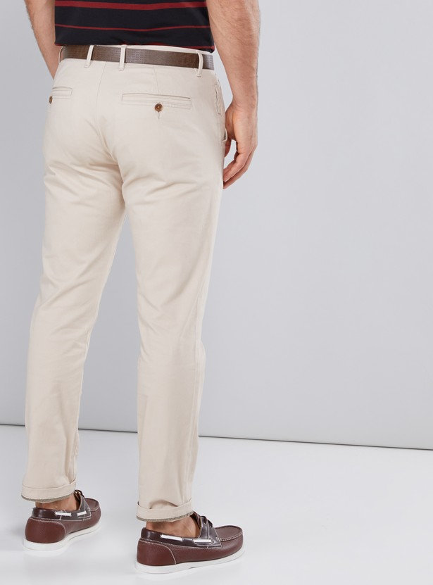 Full Length Chinos with Pocket Detail