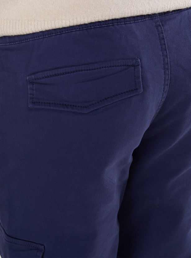Pocket Detail Joggers with Drawstring