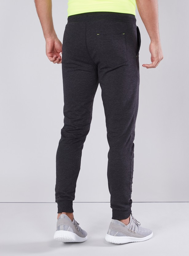 Slim Fit Printed Jog Pants with Elasticised Waistband