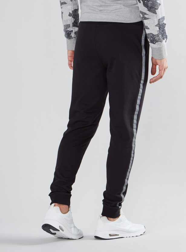 Batman Printed Jog Pants with Pocket Detail and Drawstring
