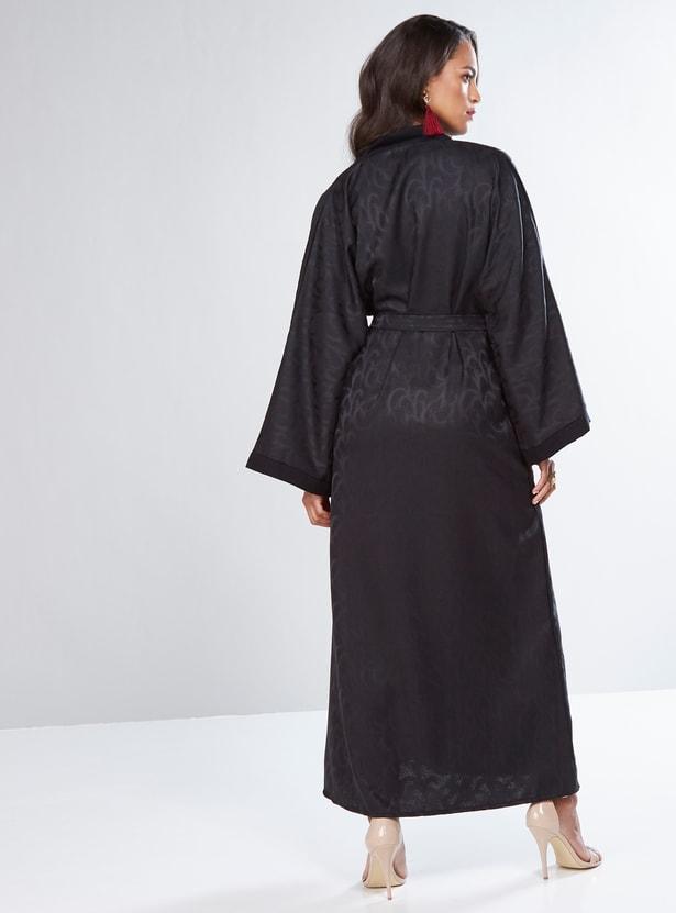 Textured Full Length Abaya