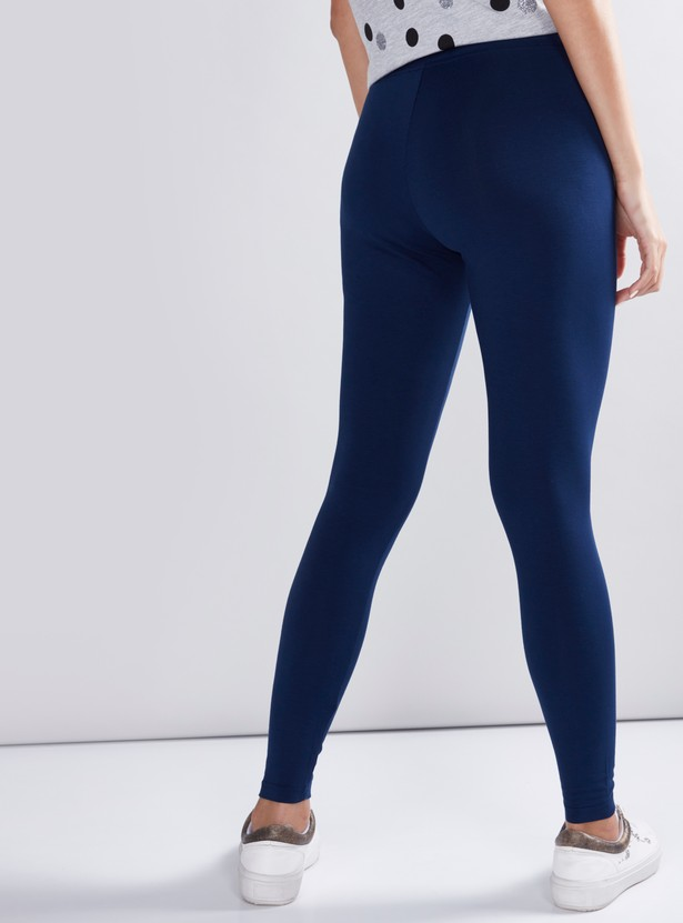 Anti-Pilling Leggings with Elasticised Waistband