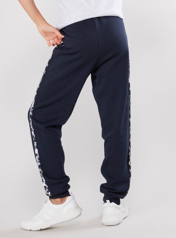 Plain Jog Pants with Elasticised Waistband with Drawstring