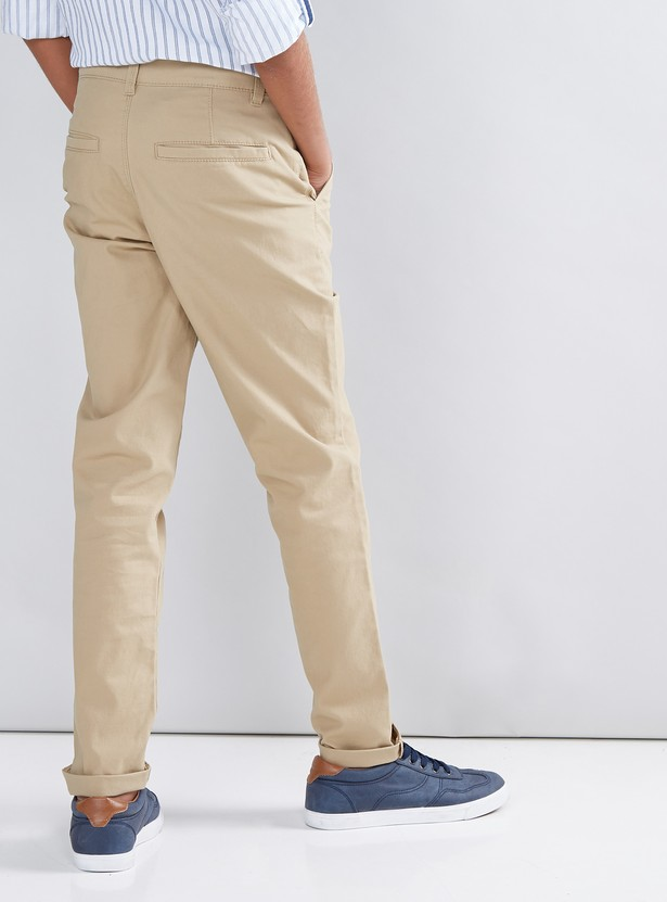 Full Length Pocket Detail Chinos