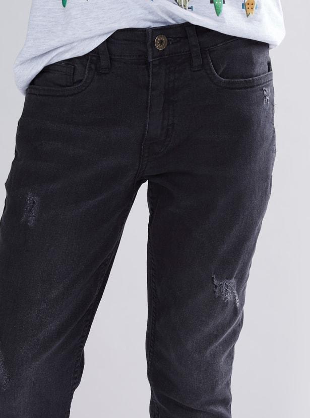 Distressed Detail Jean