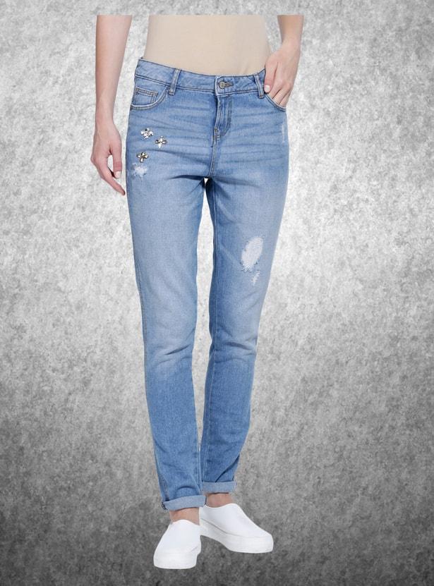 Full Length Skin Fit Jeans