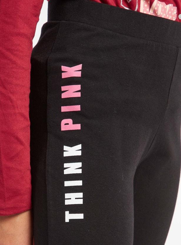 Pink Panther Print Leggings