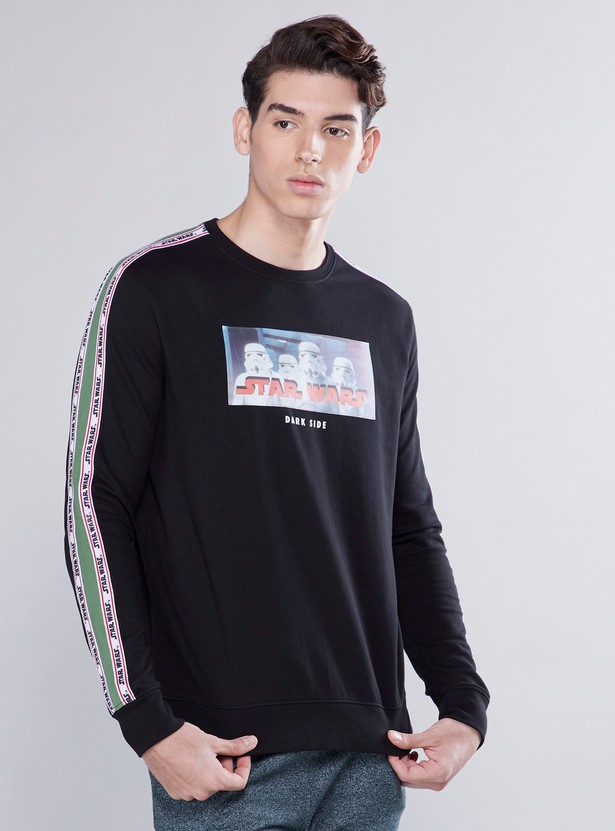 Star Wars Printed Sweatshirt with Tape Detail