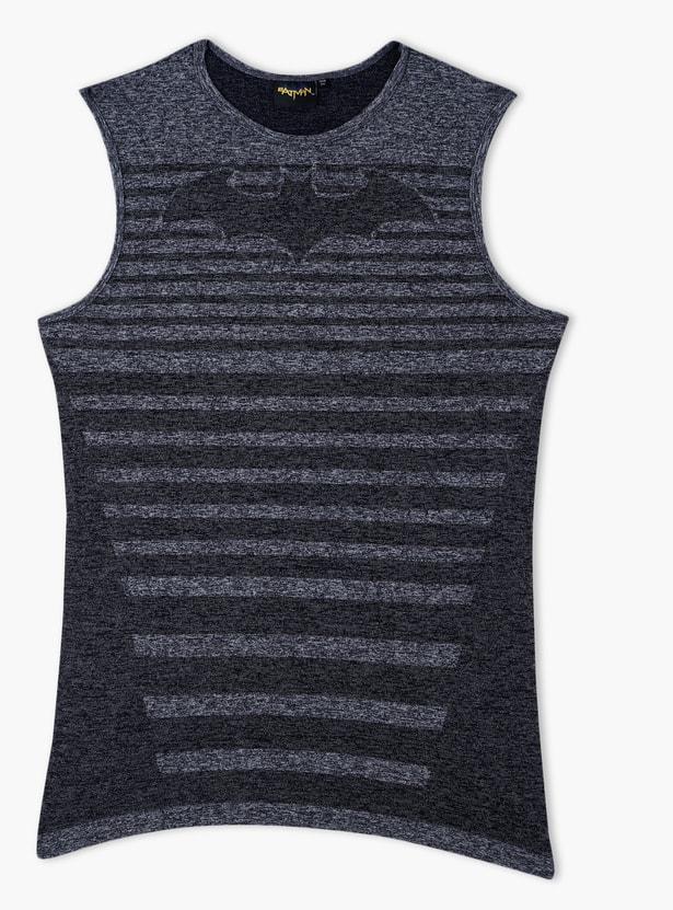 Batman Printed Sleeveless T-Shirt