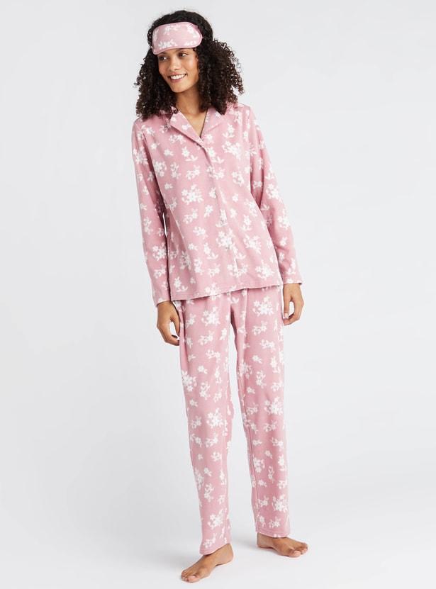 Gift Pack - Cozy Printed 3-Piece Sleepwear Set
