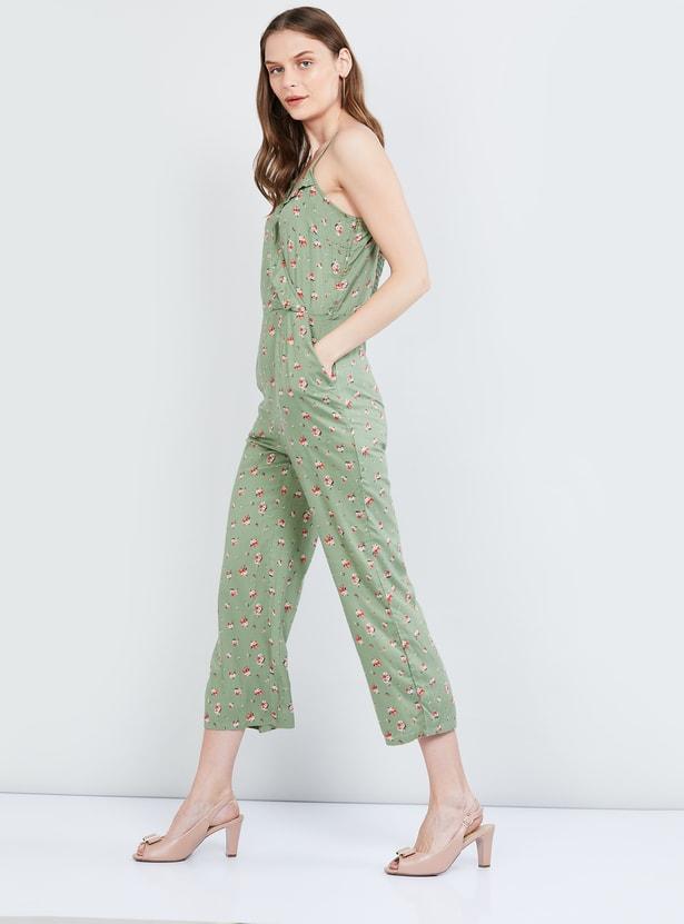 MAX Floral Print Jumpsuit