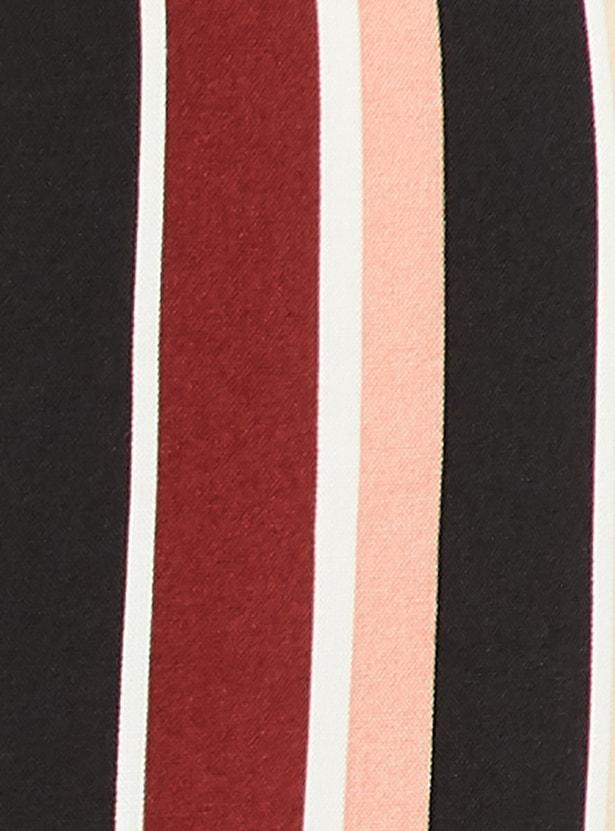MAX Striped Three-quarter Sleeves Tunic