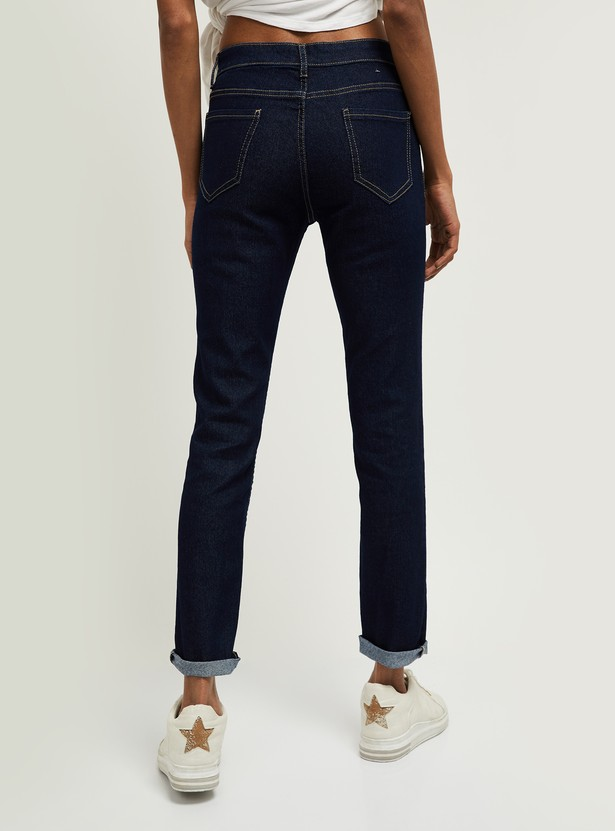 MAX Solid Pencil Fit Jeans - Eco Wash