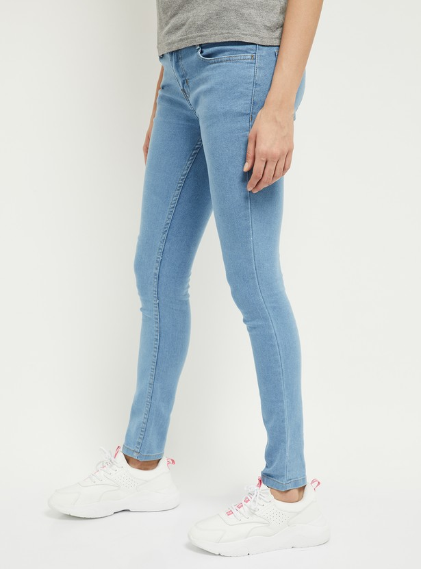 MAX Solid Skinny Jeans - Eco Wash
