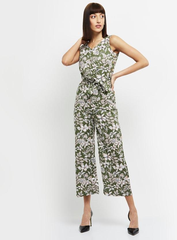 MAX Floral Printed Jumpsuit