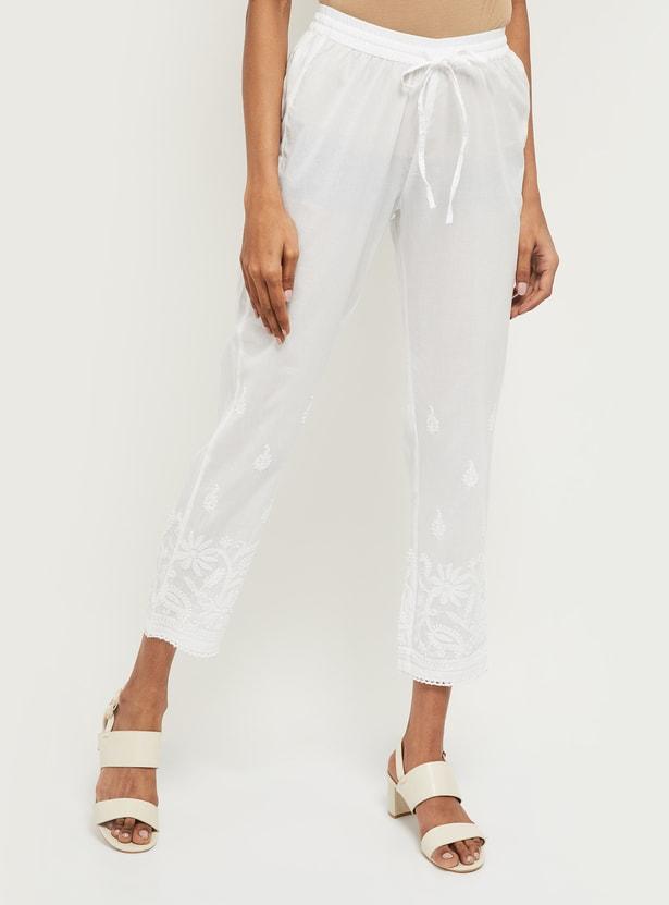 MAX Printed Straight Pants