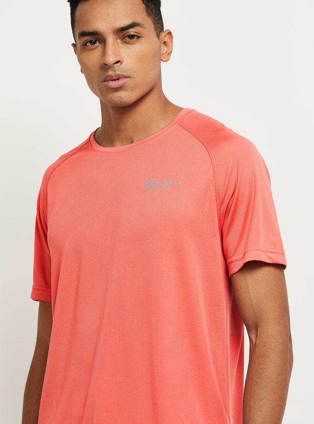 MAX Printed Round Neck Sports T-shirt