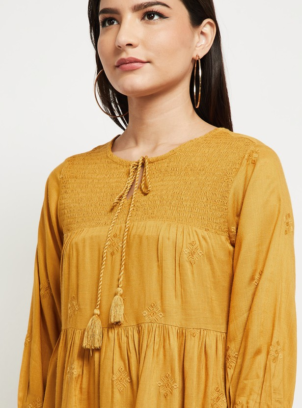 MAX Solid Tiered Tunic