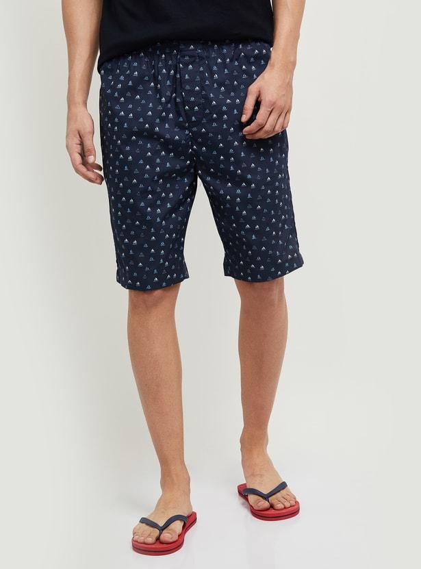 MAX Printed Elasticated Lounge Shorts