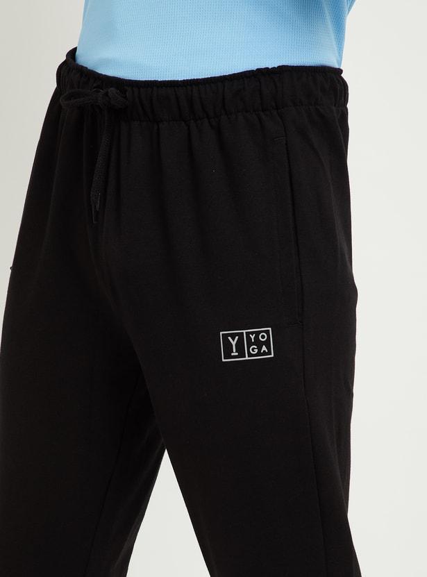 MAX Solid Slim Fit Yoga Joggers