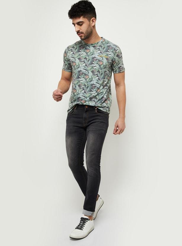 MAX Printed Slim Fit Crew Neck T-shirt
