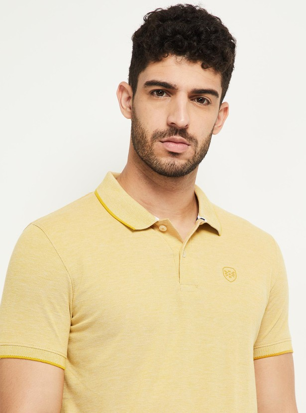 MAX Collared Polo T-shirt with Short Sleeves