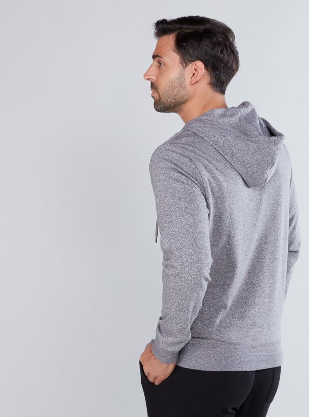 Long Sleeves Jacket with Zip Closure and Hood