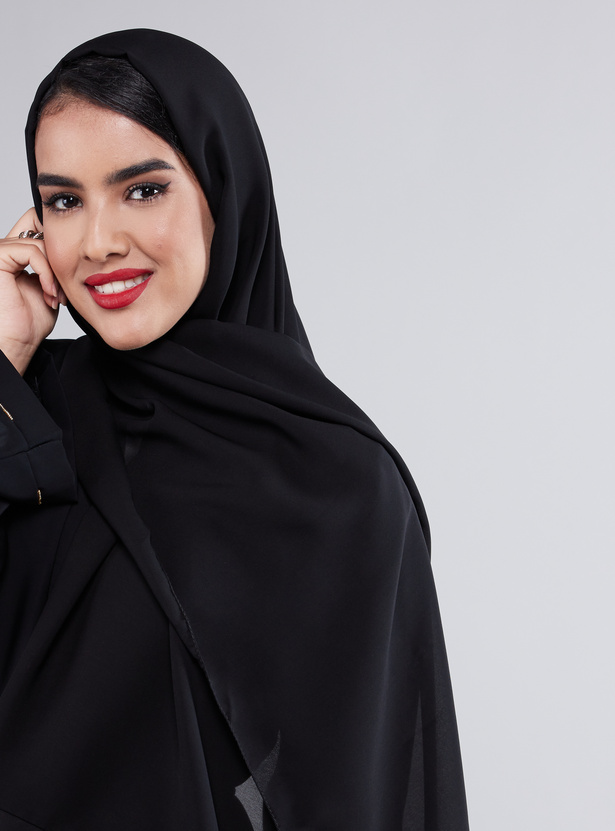 Embellished Abaya with Full Sleeves