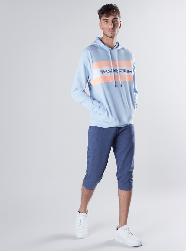 Solid Joggers with Drawstring Waistband