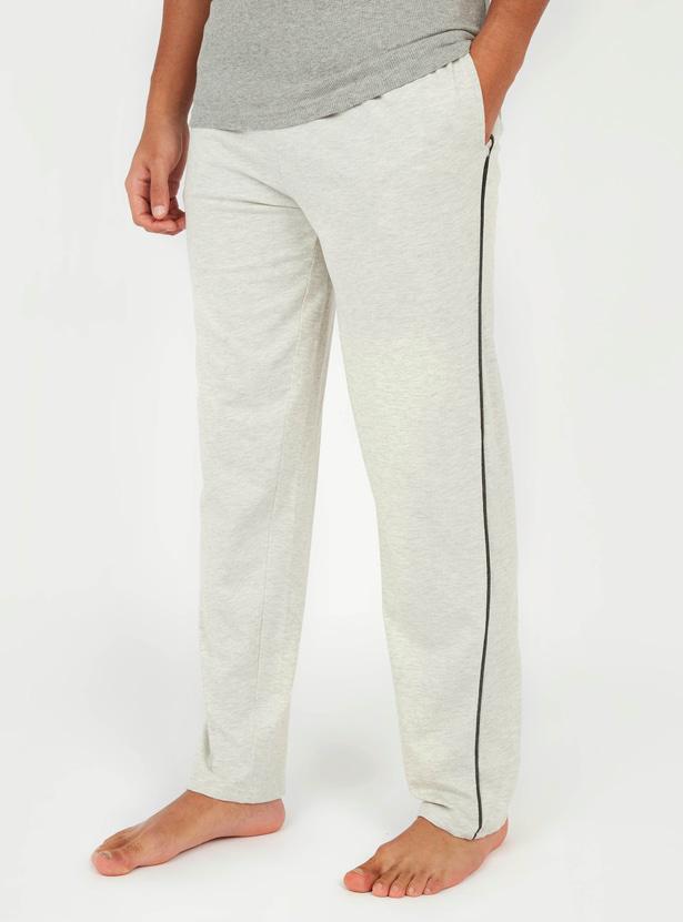 Textured Pyjama with Pockets and Drawstring