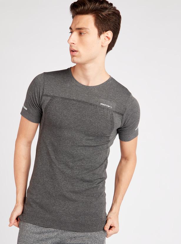 Typographic Print Crew Neck T-shirt