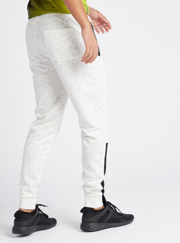 Full Length Space Dye Jog Pants with Zippered Pockets and Drawstring