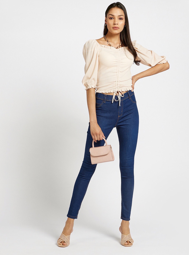 Full Length Super Skinny Fit High-Rise Jeggings