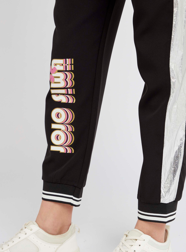 JoJo Siwa Print Joggers with Drawstring Detail
