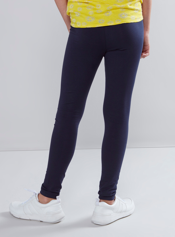 Full Length Anti-Pilling Leggings with Elasticised Waistband