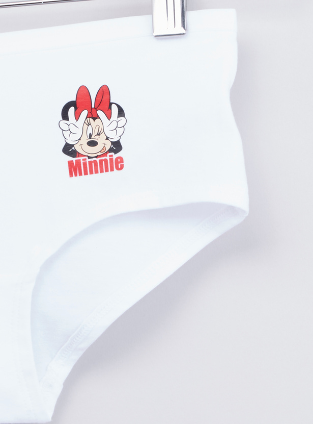 Set of 2 - Minnie Mouse Printed Briefs