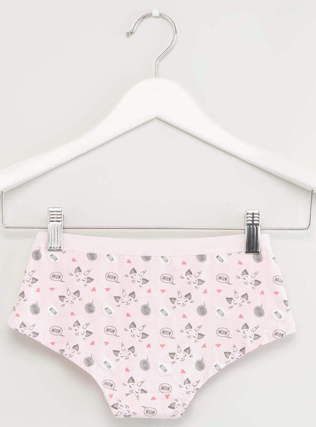 Set of 5 - Assorted Briefs with Elasticised Waistband
