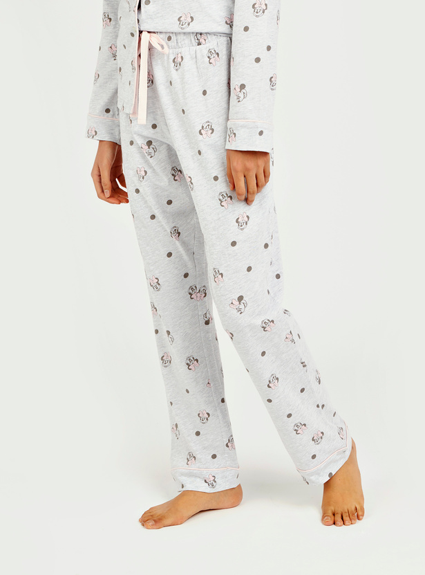 Minnie Mouse All Over Print Shirt and Pyjama Set