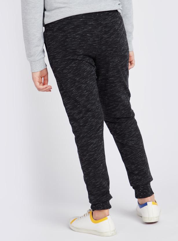 Full Length Anti-Pilling Jog Pants with Elasticated Drawstring Waist