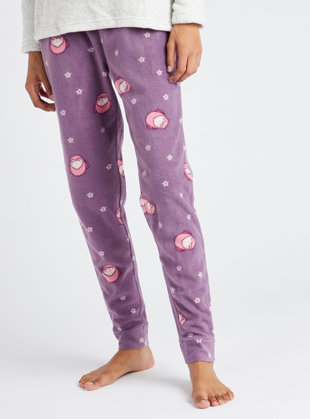 Gift Pack - Cozy Printed 3-Piece Nightwear Set